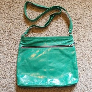 Hobo Teal crossbody purse/bag